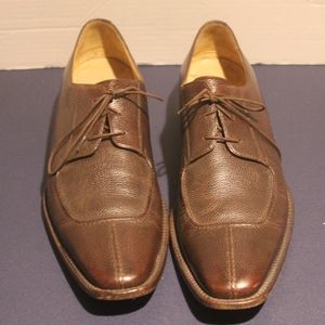 Cole Haan Mens Size 11.5 Brown Leather Oxfords